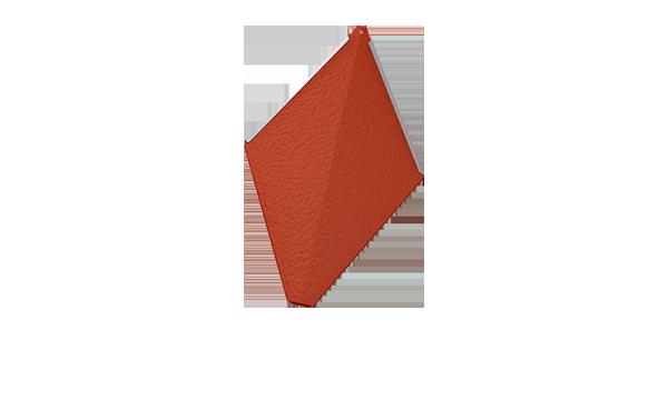 PREFA věžovka – malá střešní šablona